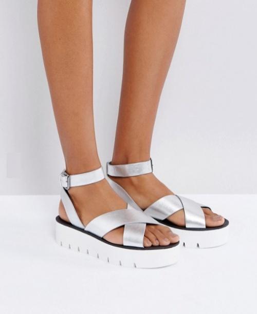 Bershka - Sandales à plateformes