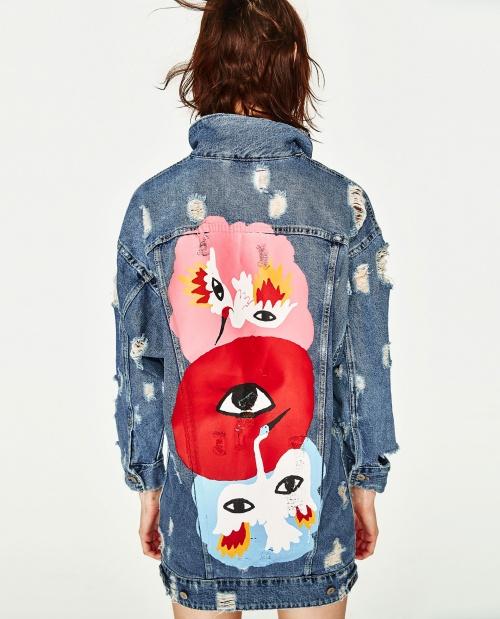 Zara - Veste en jean