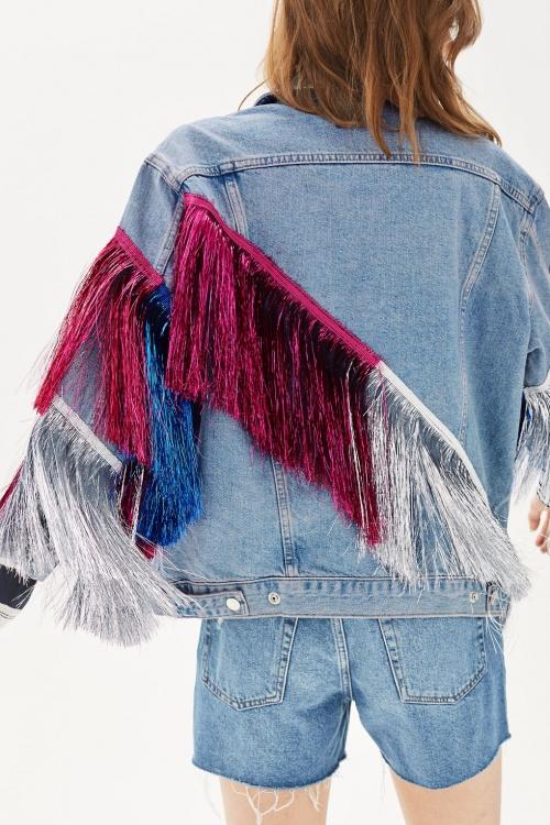 Topshop - Veste en jean