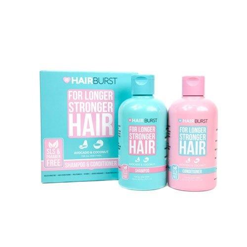 Lot de shampoing et après-shampoing pour cheveux longs et robuste - Hairbust