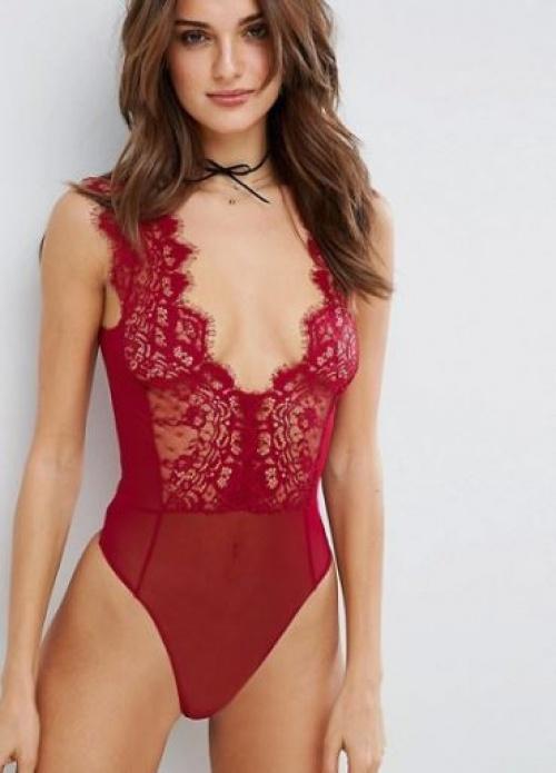 Asos - Body rouge