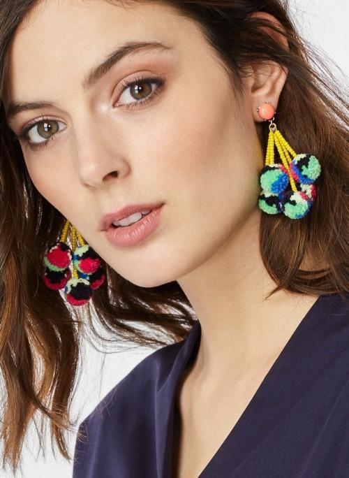 Baublebar - Boucles d'oreilles pompons
