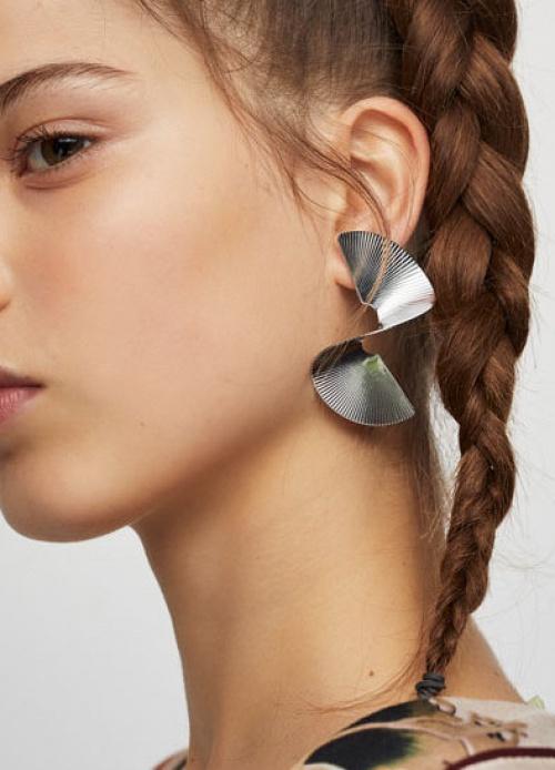 Pull & Bear - Boucles d'oreilles spirale