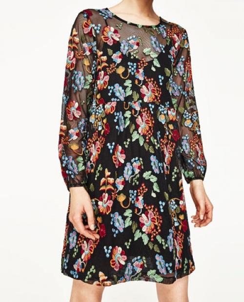 Zara - Robe transparente