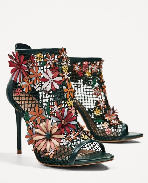 Zara - Sandales brodées