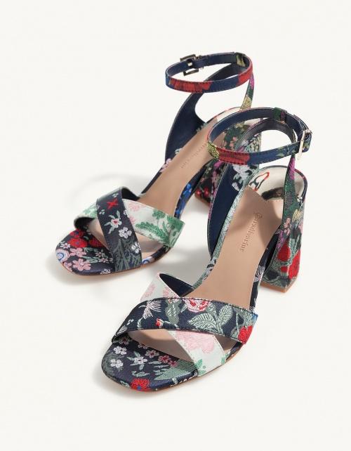 Stradivarius - Sandales fleuries
