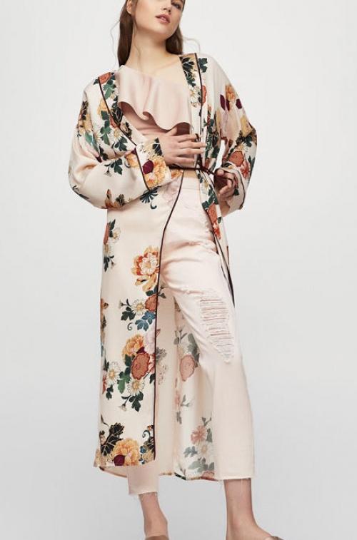 Pull & Bear - Kimono long