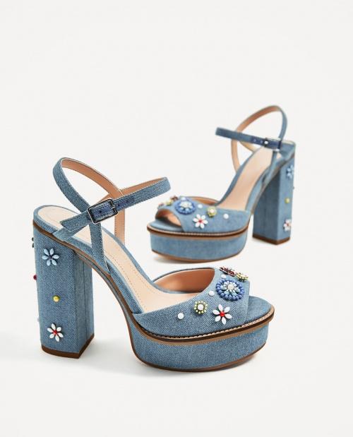 Zara - Sandales compensées