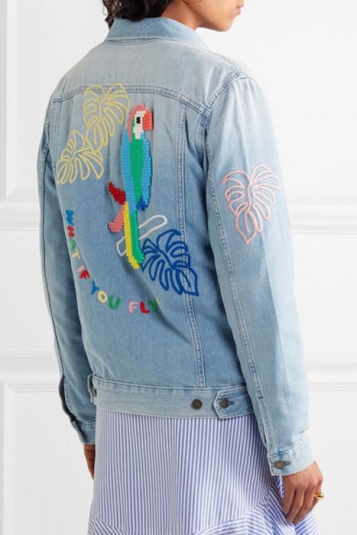 Mira Mikati - Veste en jean