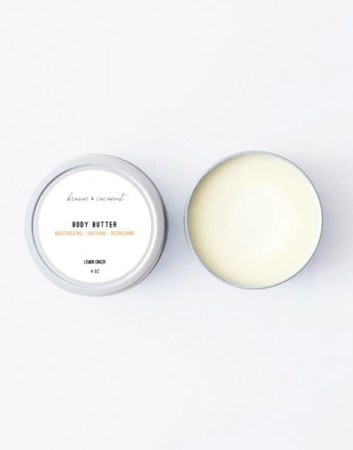 Beurre corporel Citron / Gingembre