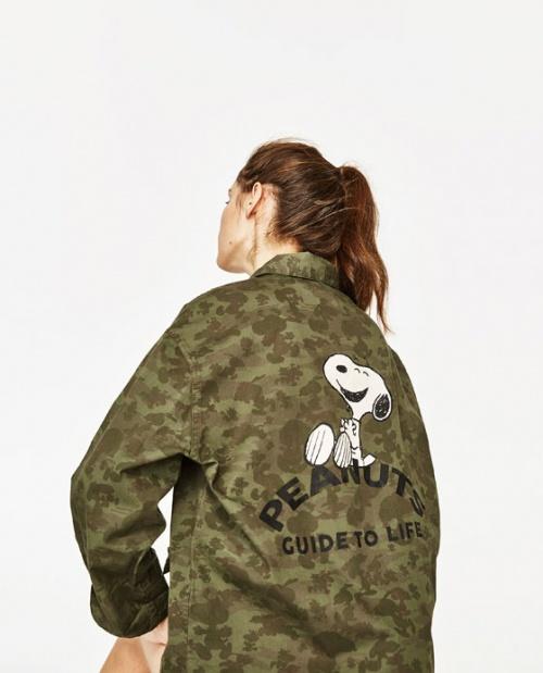 Zara - Veste militaire