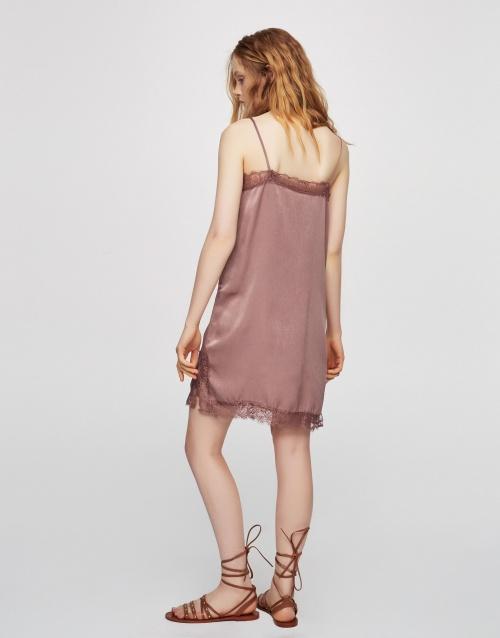 Slip dress courte