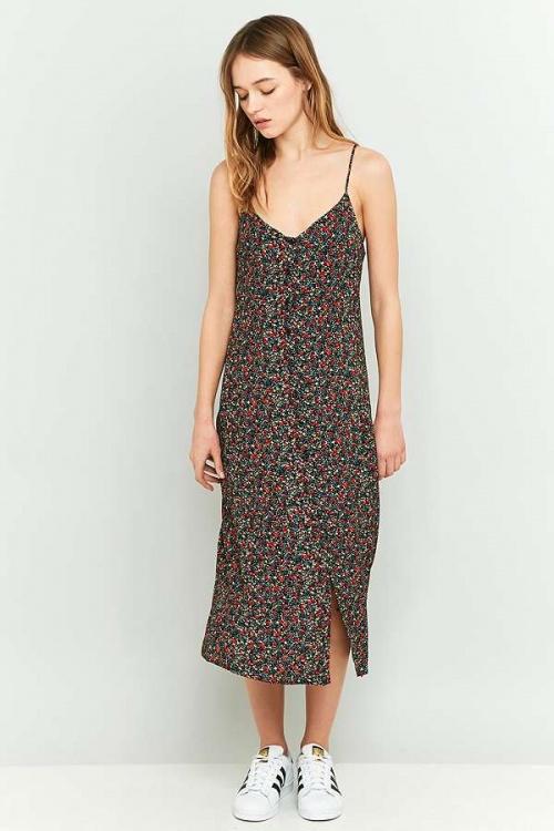 Slip dress fleurie