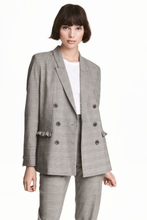H&M - Blazer carreaux