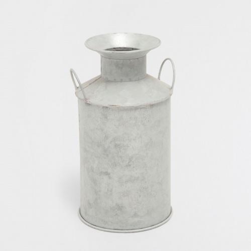 Pot décoratif en métal