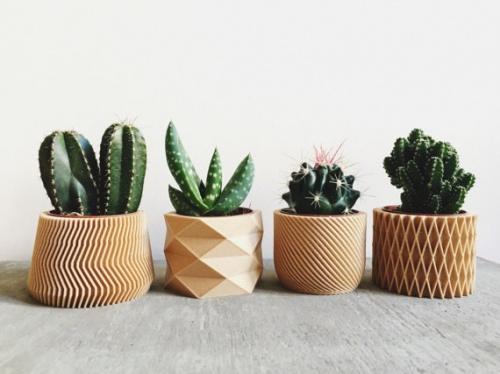 Cahce-pots par 4 tendance Hygge