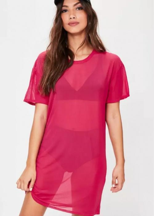 Missguided - Robe teeshirt