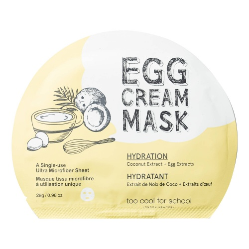 Masque tissu visage hydratation - Too Cool For School
