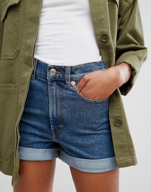 Monki - Short en jean