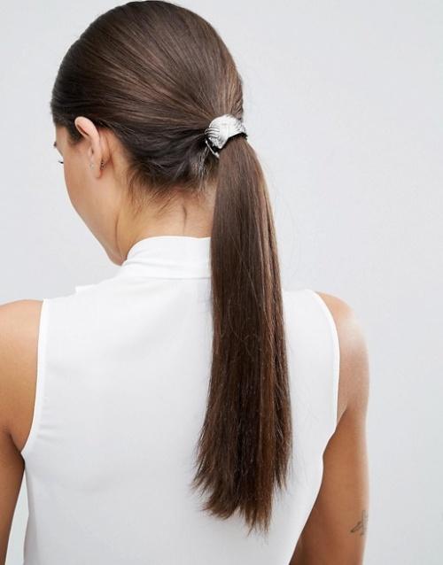Elastique pour cheveux métallique - Asos