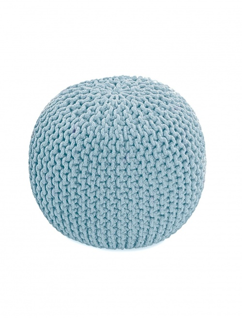 Homescapes - Pouf en tricot