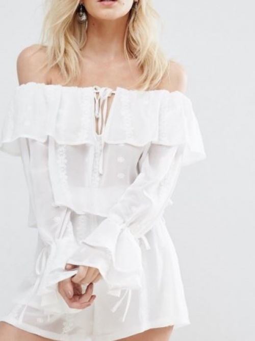 Missguided - Top bardot