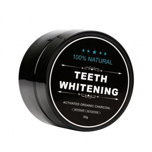 Poudre de blanchiment des dents au charbon - Bonjouree