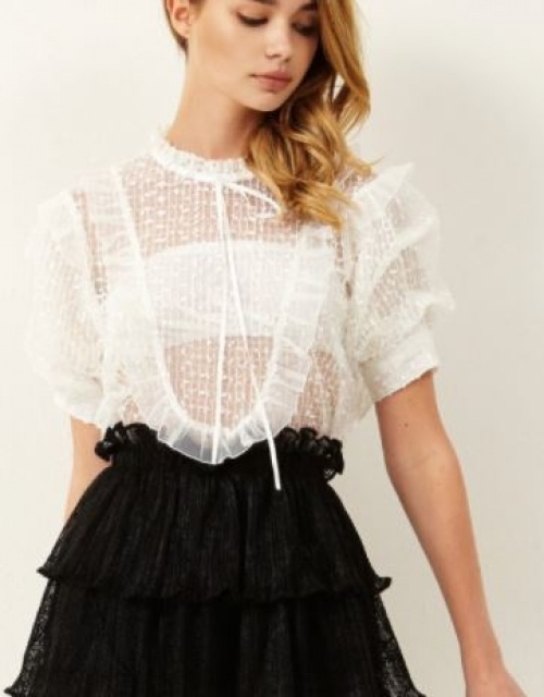 Storets - Blouse tulle