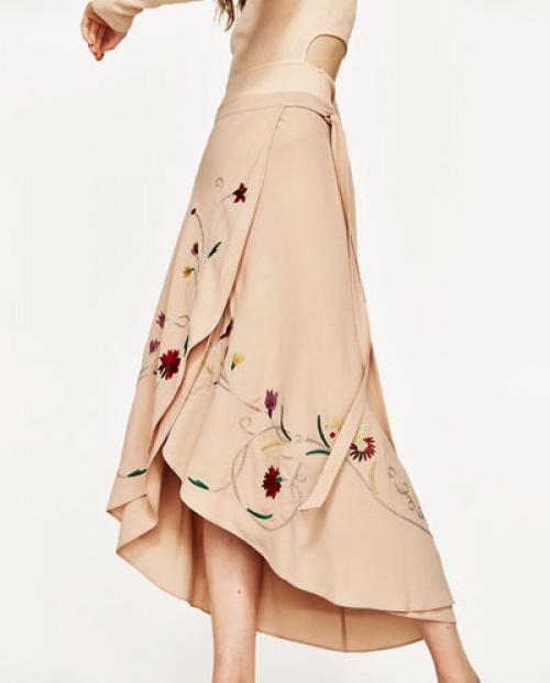 Zara - Jupe longue fleurie