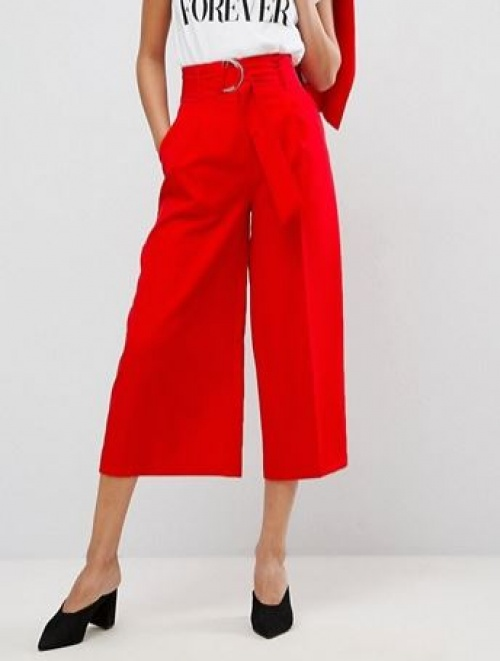Asos - Jupe-culotte rouge