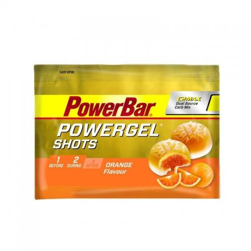 Gommes énergétiques POWERGEL SHOTS orange x9 POWERBAR
