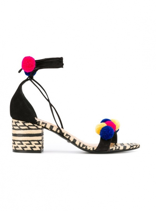 Schutz - Sandales pompons
