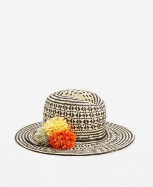 Mango - Chapeau pompons