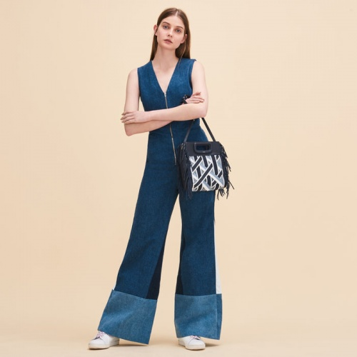Maje - Combinaison en jean