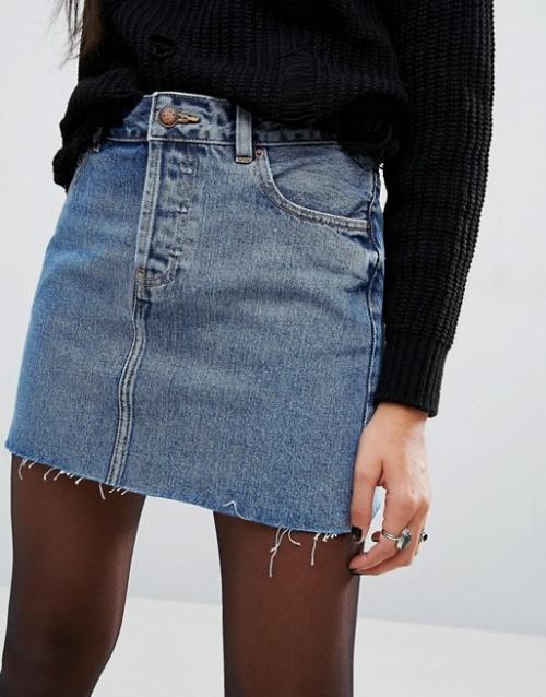 Asos - Jupe en jean