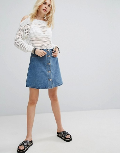Noisy May - Jupe en jean