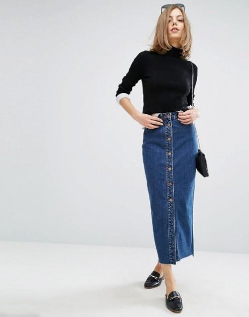 Dr. Denim - Jupe en jean