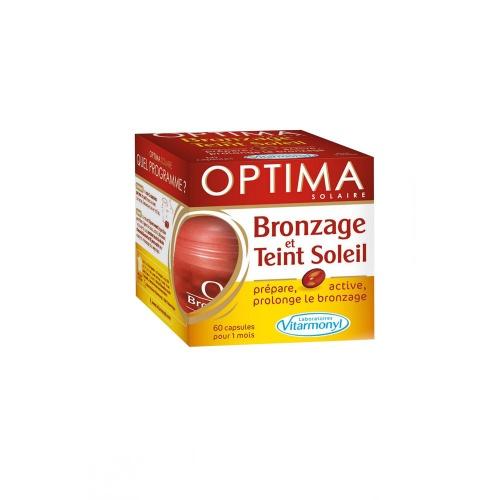 Capsules optimer le bronzage - Vitarmonyl