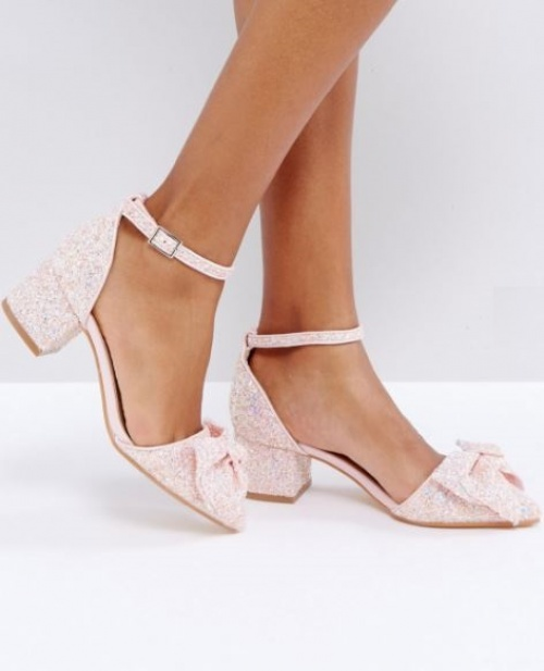 Truffle - Chaussures à talon moyen avec nœud