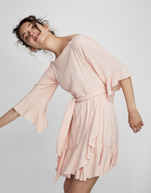 Pull & Bear - Robe volants