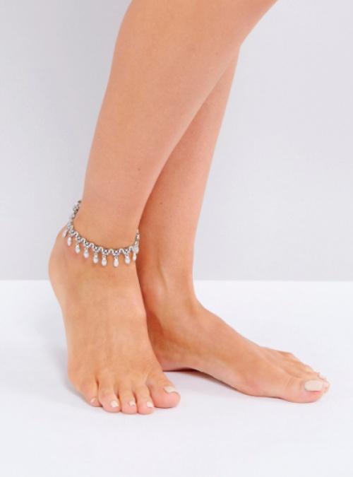 Asos - Bracelet de cheville à breloque
