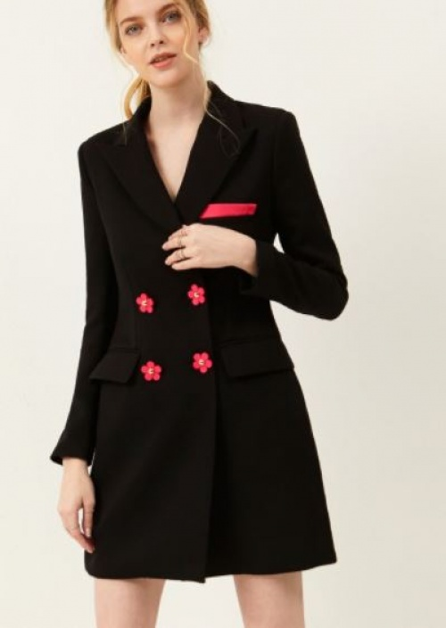 Storets - Robe blazer à fleurs