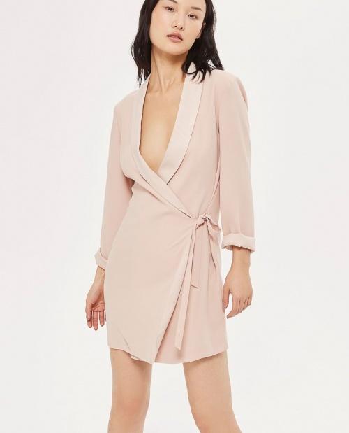 Topshop - Robe blazer nouée