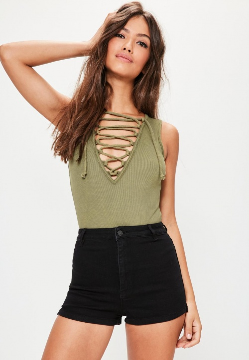 Missguided - Body top côtelé