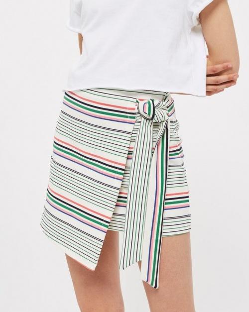 Topshop - Mini-jupe portefeuille