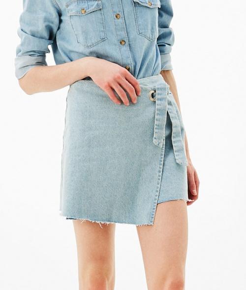 Bershka - Mini-jupe paréo