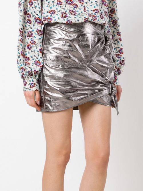 Isabel Marant - Mini-jupe argentée