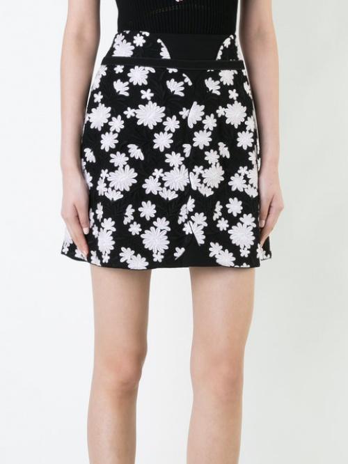 Giambattista Valli - Mini-jupe fleurie