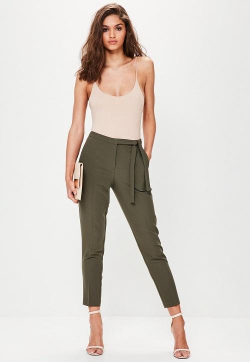 Missguided - Pantalon noué à la taille