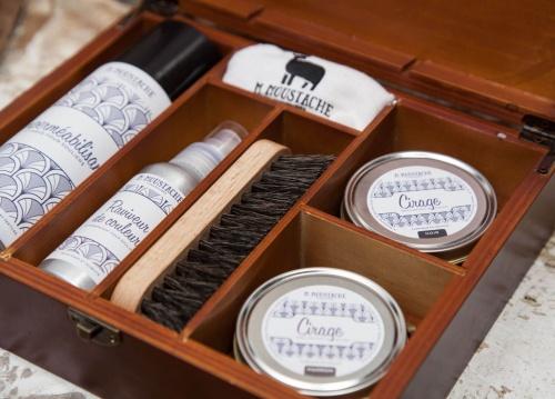 M. Moustache - Kit d'entretien pour chaussures
